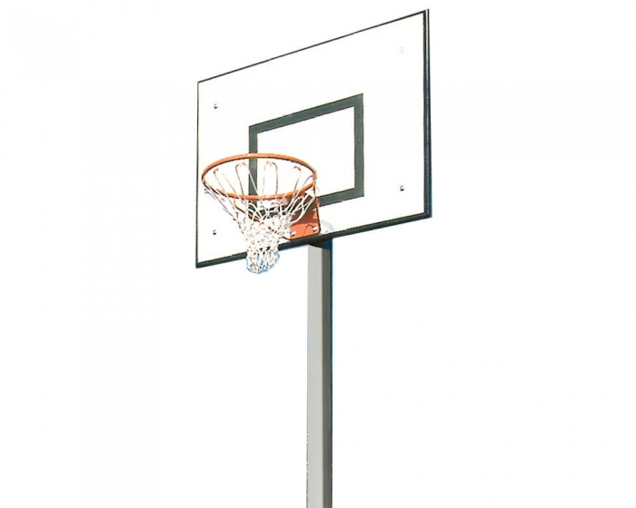 Einmast Basketballanlage