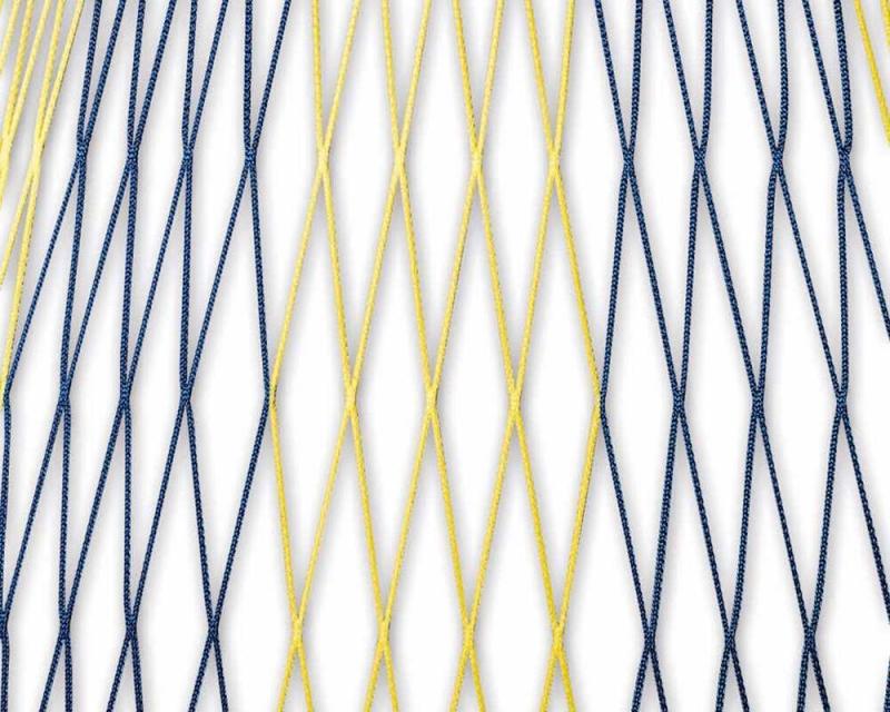 Ballfangnetze 2 Farbig In Vereinsfarbenbr Maschenweite 120mmbr