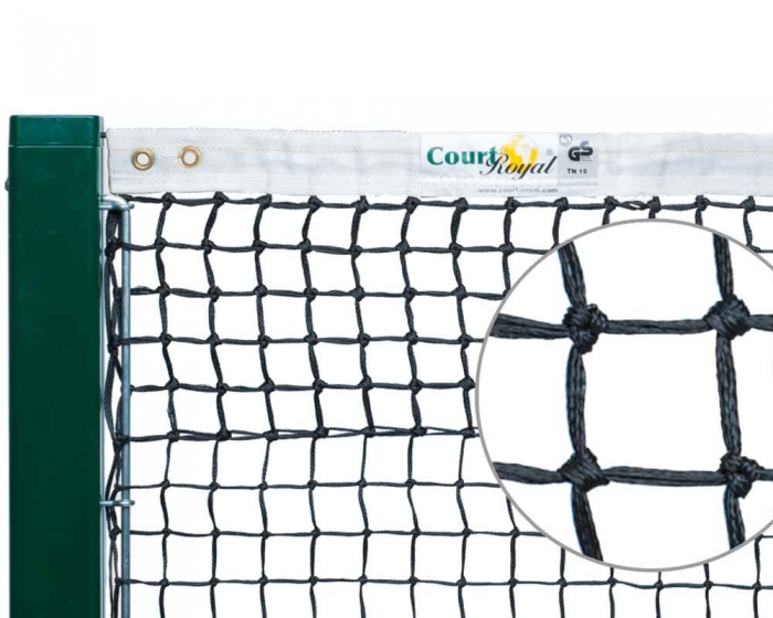 Tennisnetz Court Royal TN15 schwarz