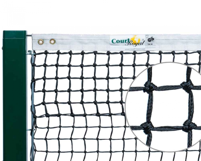 Tennisnetz Court Royal TN20 schwarz