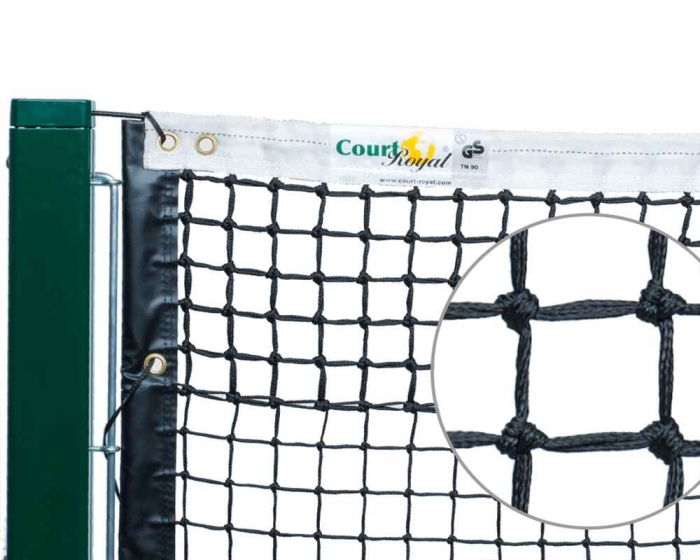 Tennisnetz Court Royal TN90 schwarz