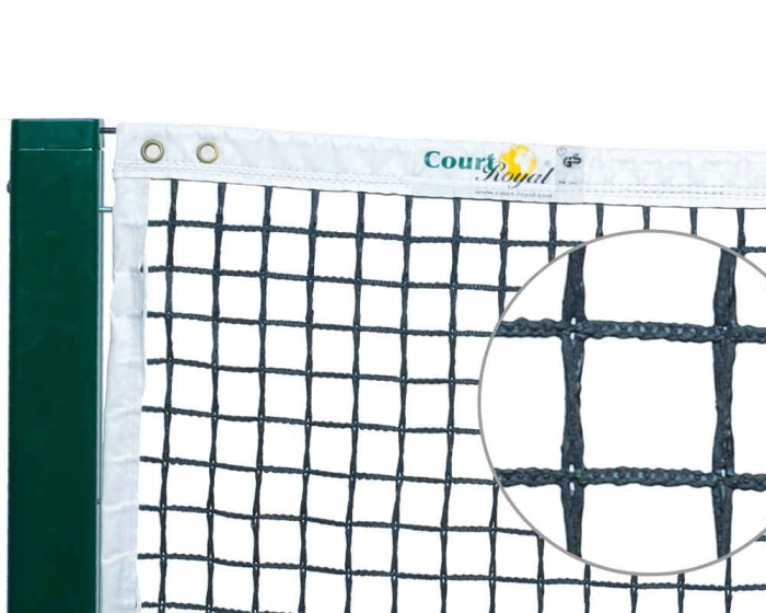 Tennisnetz Court Royal TN200 schwarz
