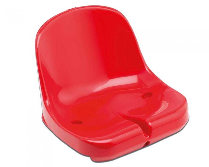 Sports Stadium Shell Seats <br>Elegance red RAL 3000